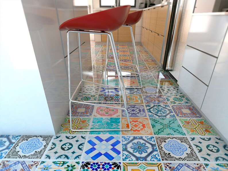 Stickers Voor Tegels : Tegelsticker mosaic stickers op de tegels u pixers we leven