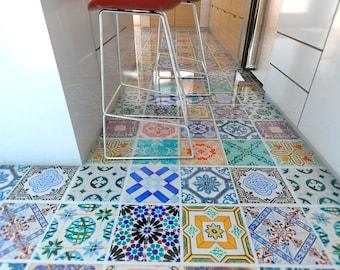 Tegole portoghesi pavimento campagna pavimento in vinile