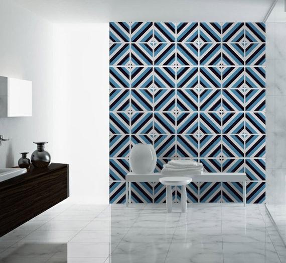 Mosaic Wall Art Carrelage Adhesif Fliesenaufkleber Tile Etsy