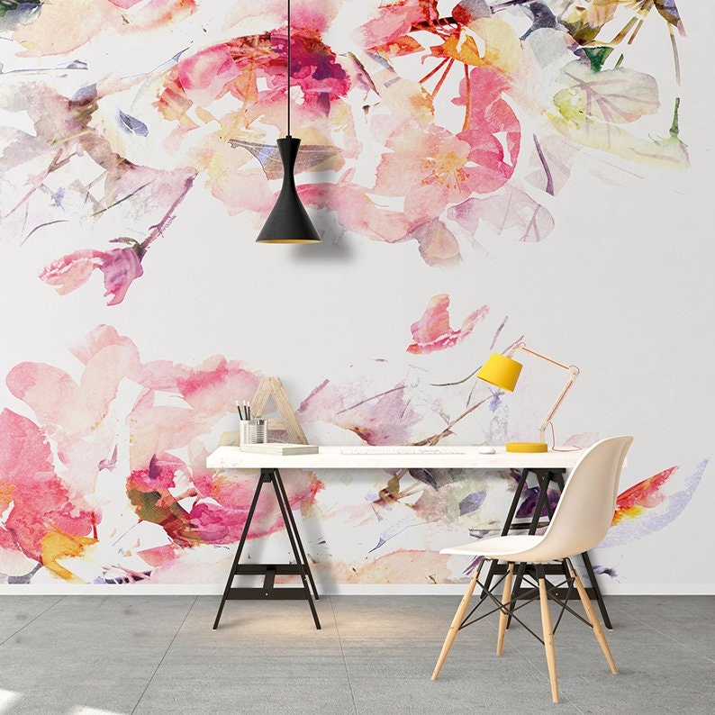 Removable Wallpaper Peel And Stick Wallpaper Self Etsy