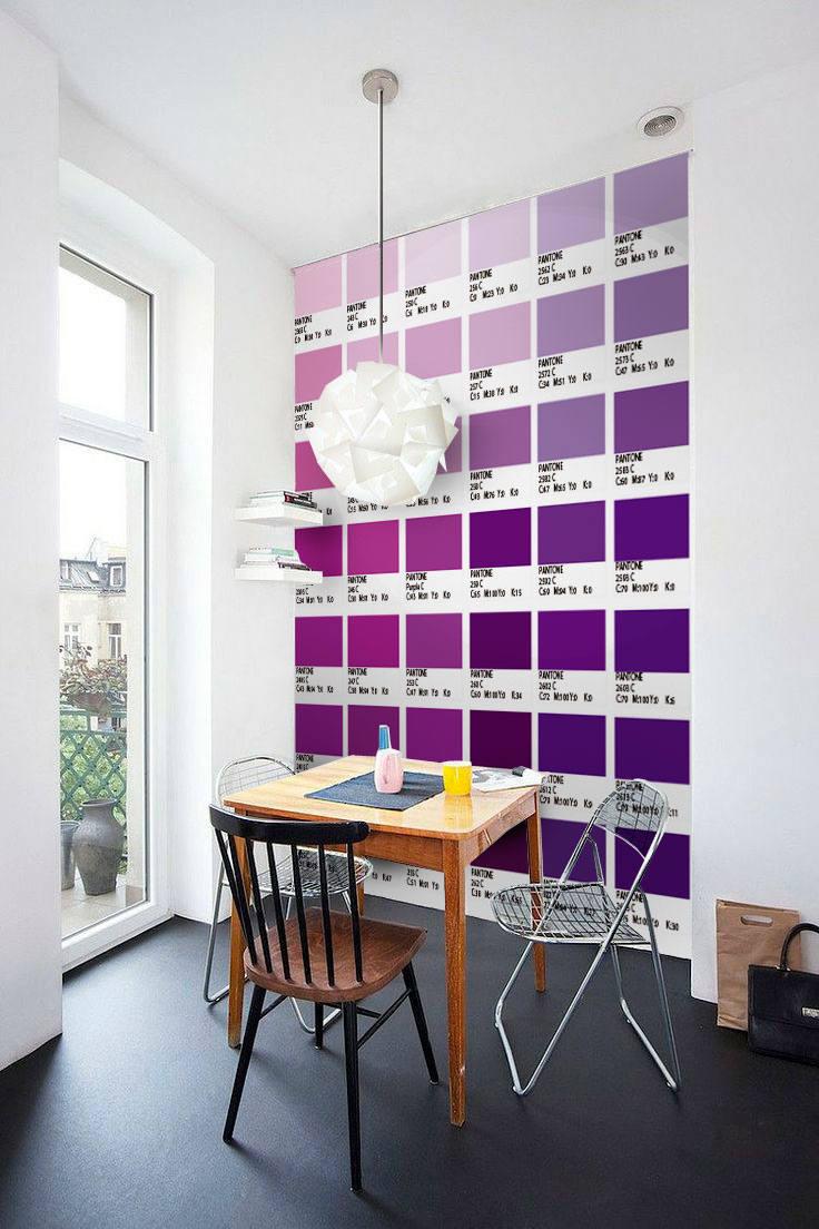 Pantone-lila Treppen Aufkleber Carrelage Adhésif Treppe | Etsy