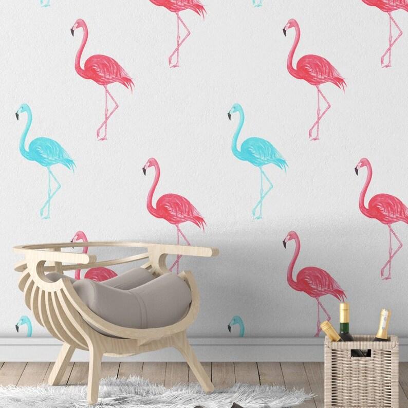 Free Pink Flamingo Computer Wallpaper