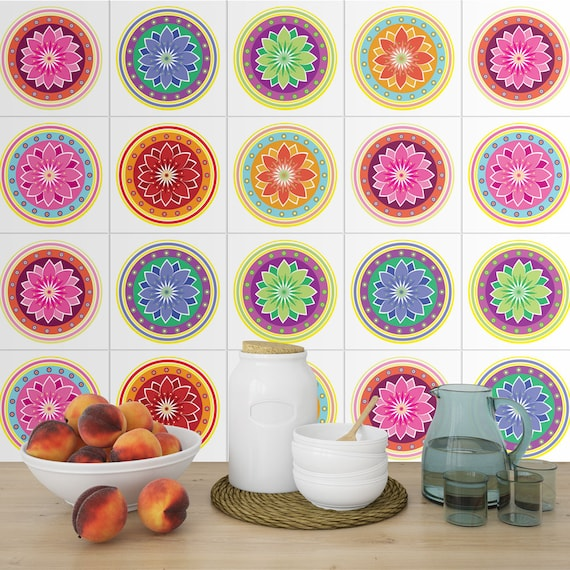 Stickers OTHER FRUITS 2 Sizes Tile Transfers 5 x BLACK CURRANT TILE DECALS