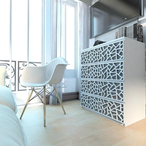 Coral Furniture Appliques Fretwork Overlays Makeover Furniture Decor Malm Kits Lattice Ornaments Sku Coral