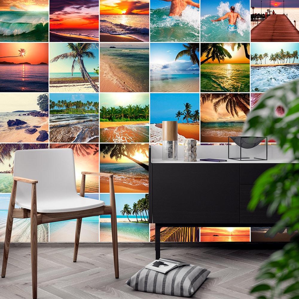 Fliesen Aufkleber Strand Paradies Fotos Küche