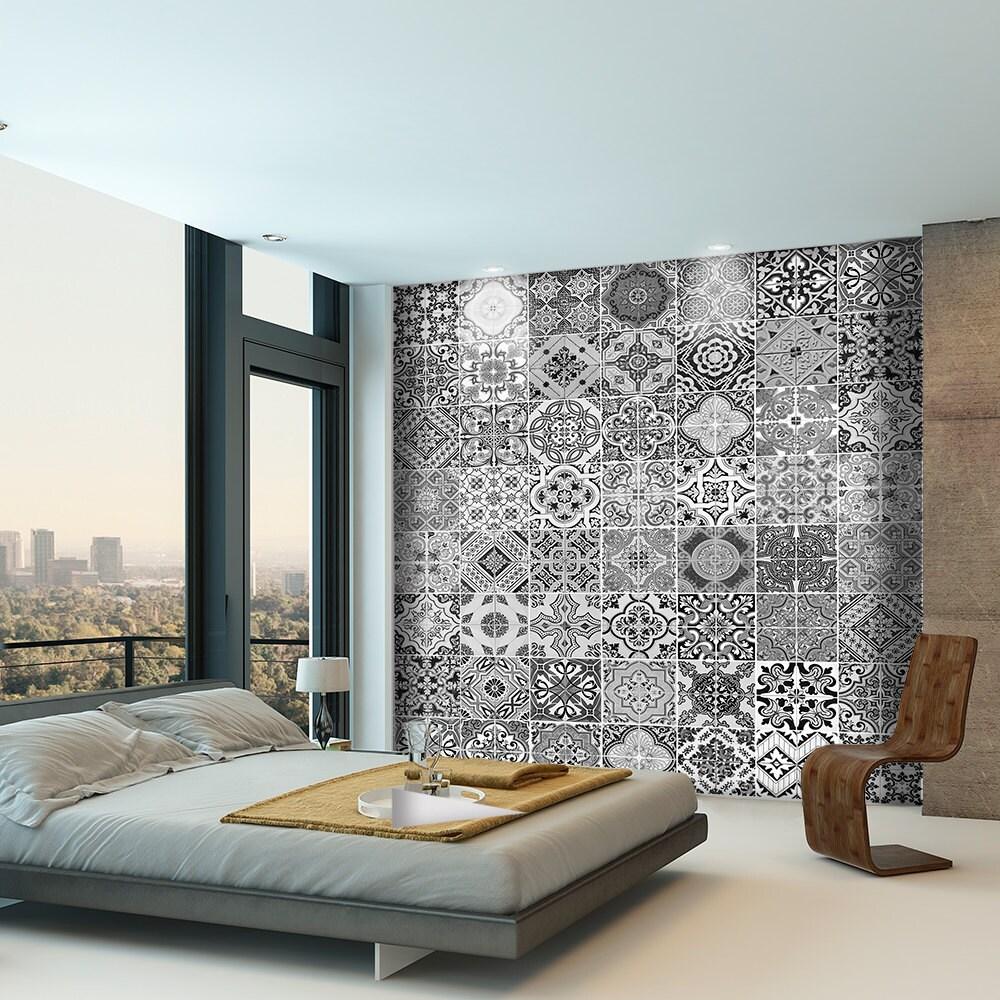 portugiesische fliesen fliesenaufkleber k che. Black Bedroom Furniture Sets. Home Design Ideas