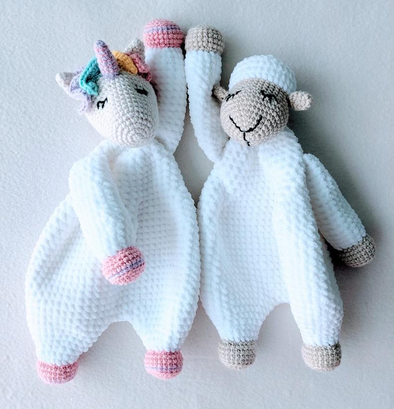 PATTERN ONLY Sleepy Comforter bundle crochet lovey crochet image 0