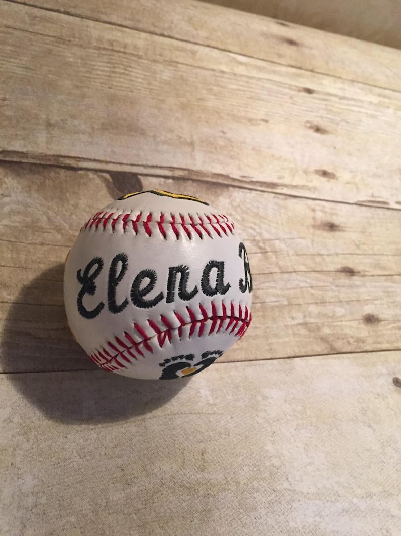 Custom Embroidered Baseball or Softball