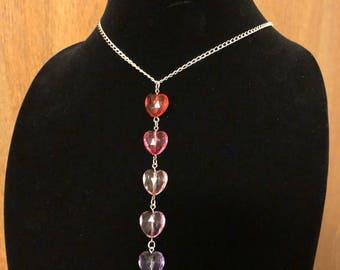 Pink Kisses Necklace