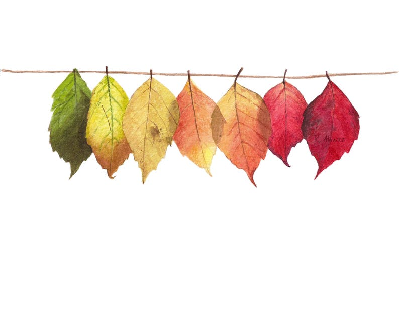 minimalist fall harvest decor  fall leaves mantle decor  image 0