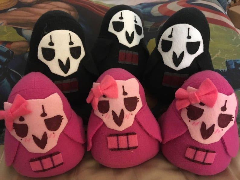 Overwatch Reaper Bean Fleece Plush Toys 3 sizes  175ad0bdd075