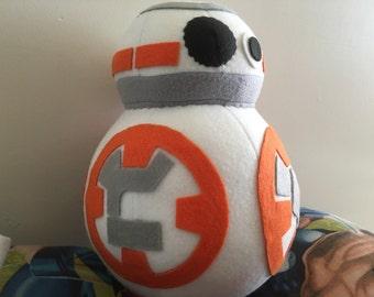BB-8 Star Wars TFA Fleece Plush Droid
