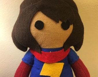 Kamala Khan Ms.Marvel Fleece Plush Doll