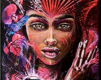 Mother Gaia - Giclee Print