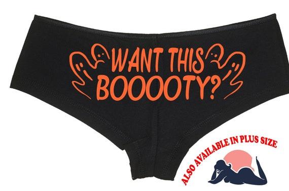WANT THIS BOOOOTY Halloween booty boy short panty Panties boyshort underwear sexy funny halloween flirty sexy costume slutty outift