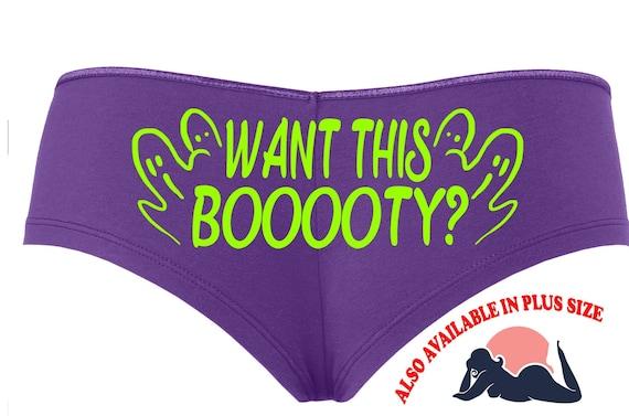 WANT THIS BOOOOTY Halloween booty purple boy short panty Panties boyshort underwear sexy funny halloween flirty sexy costume slutty outift