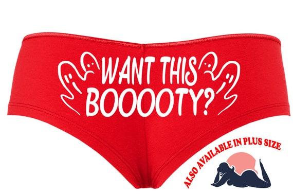 WANT THIS BOOOOTY Halloween booty red boy short panty Panties boyshort underwear sexy funny halloween flirty sexy costume slutty outift