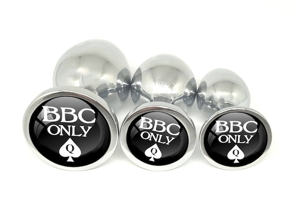 BBC ONLY - for Queen of Spades - Anal Plug for BBC Lovers - Butt Plug in 3 sizes