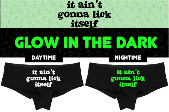 9e42d5458b32 Glow in the Dark It AIN'T isn't GONNA going to LICK | Etsy