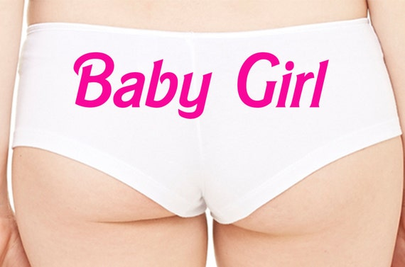 BABY GIRL owned slave boy short panty cute boyshort color choices sexy funny white panties rude collar collared neko daddys play KITTEN Cgl