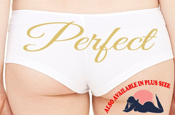 PERFECT wifey new wife engagement bridal bachelorette hen party sexy flirty fun for honeymoon the panty game available in plus size