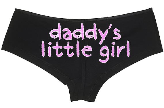 DADDY'S LITTLE GIRL ddlg clothing owned slave boy short panty Panties boyshort sexy babygirl princess slut collar neko pet play kawaii cgl