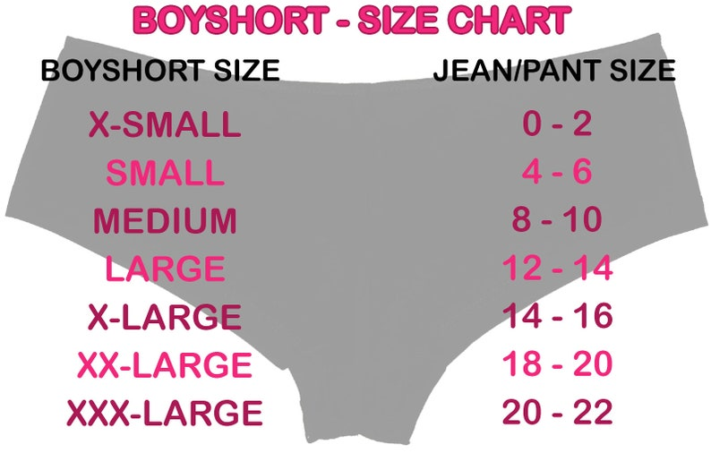 cb2912a63c2f GLOW In THE DARK FK me new boy short panty Panties boyshort | Etsy