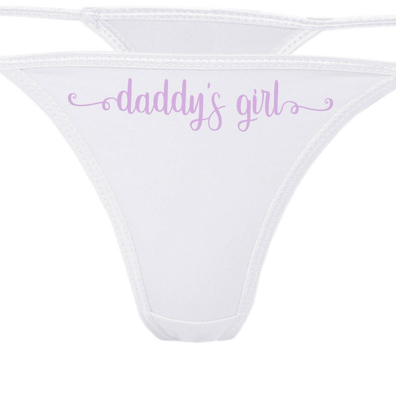 789689d28063 DADDY'S GIRL flirty cgl thong for kitten show your slutty | Etsy