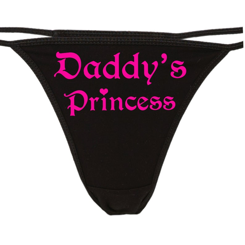 5691f9faa DADDY S PRINCESS flirty cgl thong for kitten show your