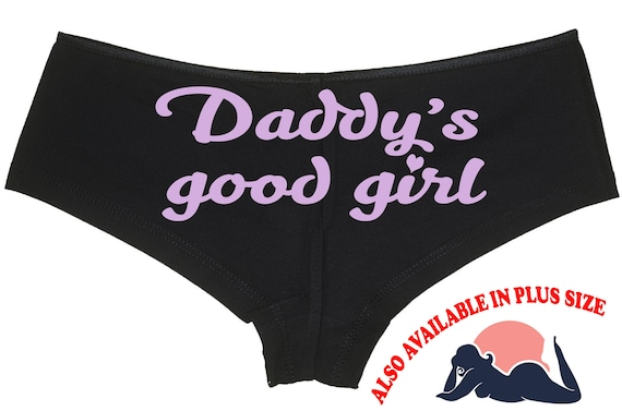 DADDY'S GOOD GIRL owned slave boy short panty Panties boyshort color choices sexy rude collar collared neko play kitten ddlg bdsm cgl