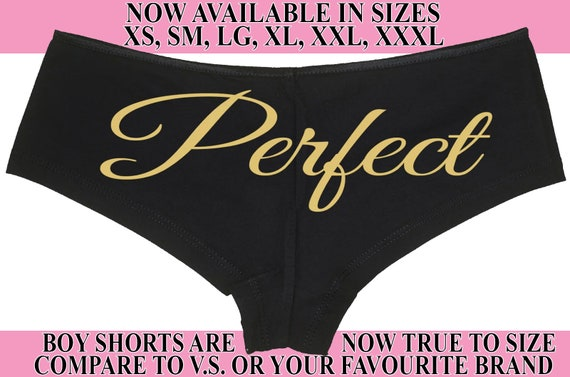 PERFECT wifey new wife honeymoon engagement bridal bachelorette hen party SEXY boyshort PANTIES funny party flirty fun panty game gift