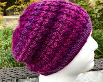 Stained Glass Soft Slouchy Hat