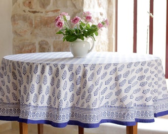 Round tablecloth, floral tablecloth, boho tablecloth, tablecloth, tablecloths, table cloth, tafelkleed, Indian tablecloth, Indian tablecloth
