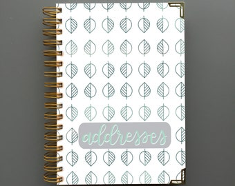 address book etsy