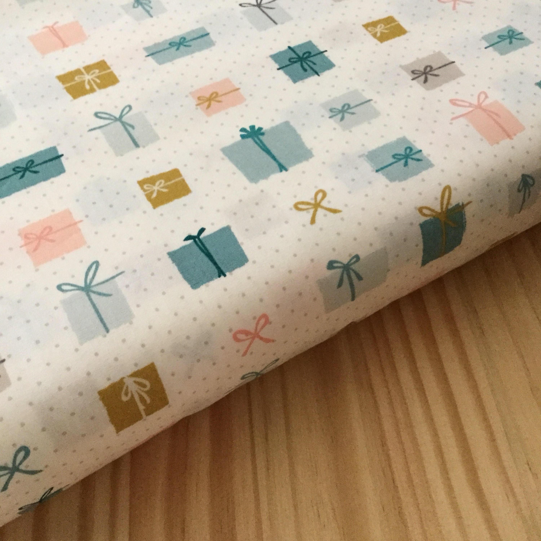 Holiday fabric Christmas fabric gifted art gallery fabrics | Etsy