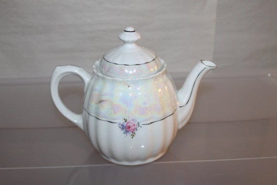 China Tea Pot Made In Germany Gorgeous Design Flowers And Etsy