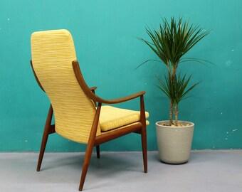 Credenza Danese Anni 50 : Divano finn juhl legno teak design danese anni 50 etsy