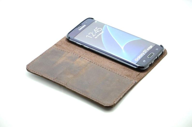 leather galaxy s7 edge case