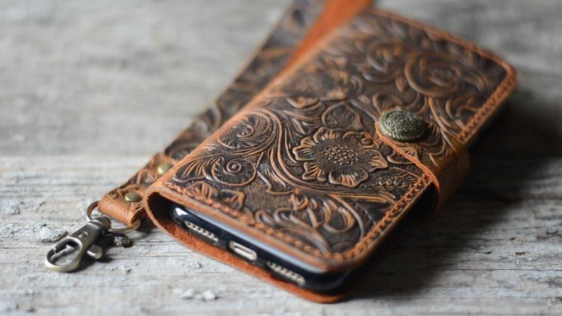 Genuine leather Wallet Google Pixel 4 XL  case  Leather Wallet image 0