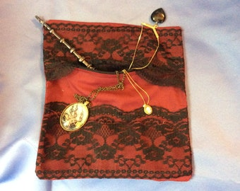 Black lace purse  a79ba7408d728
