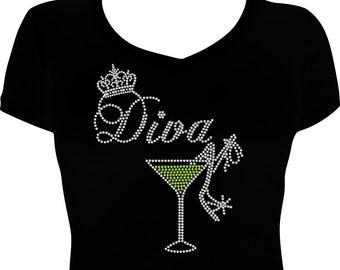 Diva Rhinestone Tee