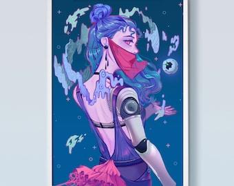 Cyborg - Large Poster