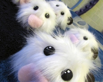 Plush  inspired poro from League of Legends - various sizes!