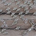 FAST SHIPPING Silver Bridal Unity Cord, Beautiful Sparkling Silver Wedding Lasso, Crystal Wedding Unity Cord, 25th Anniversary, Wedding Gift