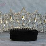 FAST SHIPPING!!!! Silver Sparkling Tiara, Crystal Tiara, Wedding Tiara Crown, Princess Tiara, Quinceañera, Sweet 16 Tiara, Bridal Tiara Gift