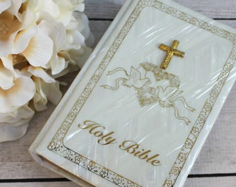 Wedding bible | Etsy