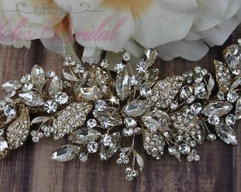 Bridal Hair Comb, Wedding Hair Comb, Crystal Hair Comb, Swarovski Hair Comb, Hair Comb, Headpiece, Crystal Headpiece, Bridal Headpiece,