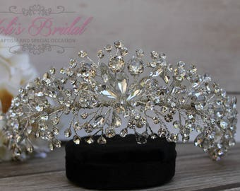 FAST SHIPPING!! Totally Flexible Swarovski Headband, Bridal Hair Comb, Swarovski  Hair Comb, Crystal Hair Comb, Swarovski Hairband