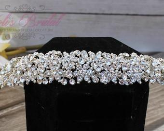 FAST SHIPPING!! Swarovski Headband, Bridal Tiara, Bridal Hair Comb, Swarovski  Hair Comb, Crystal Hair Comb, Swarovski Hairband