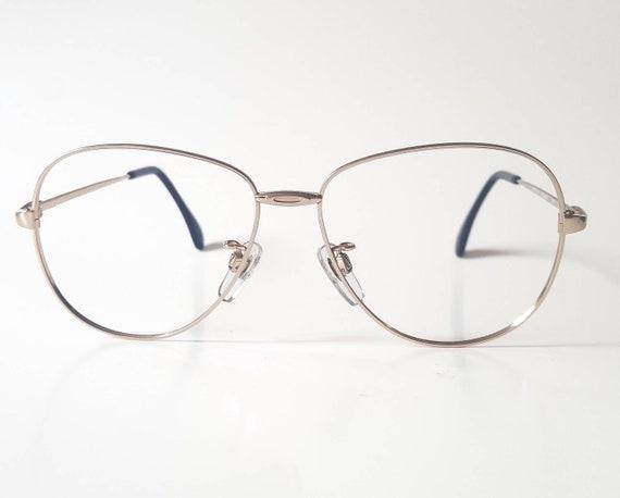 c8c152cb98 Vintage Metzler Gold Butterfly Aviator Eyeglass Frame Circa